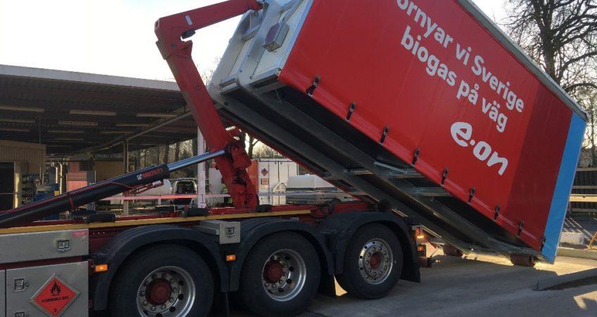 CALVERA - E.ON unit - Sweden 2 biogas biometano