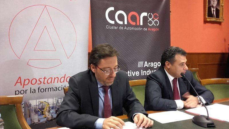 Cluster Automoción Aragón web