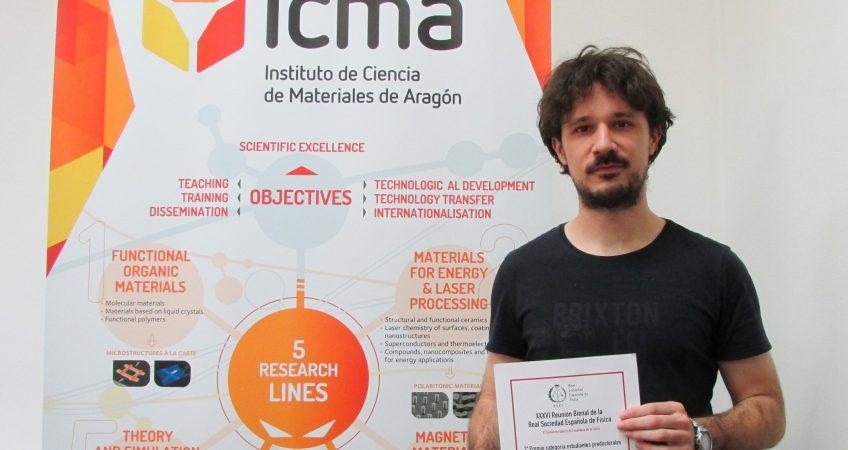 Eduardo Sanchez Burillo ICMA PREMIO