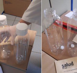 Envases recibidos en hospital de Barbastro (6)