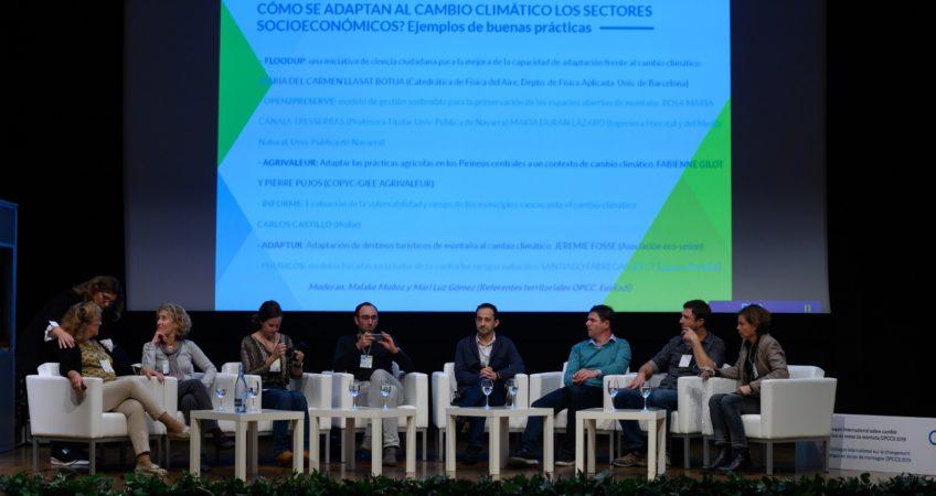 Foto Coloquio OPCC Jaca @IvánEscribano