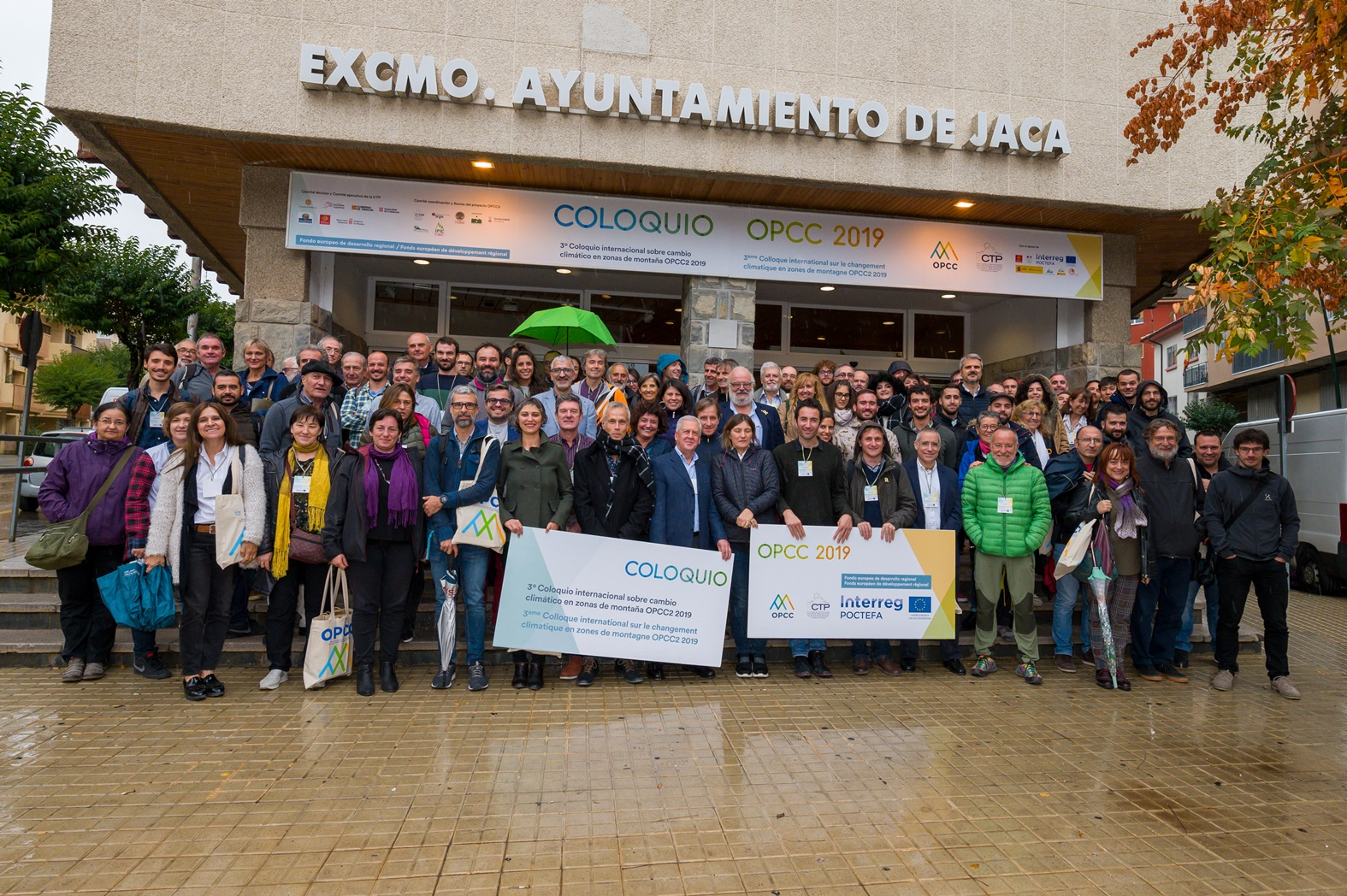 Foto familia Coloquio OPCC Jaca 2 @IvánEscribano