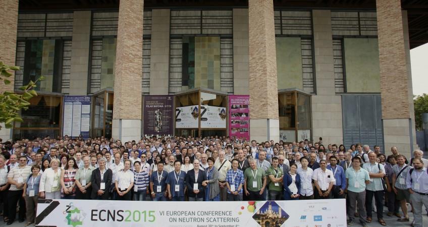 Participantes Congreso Dispersión de Neutrones ECNS