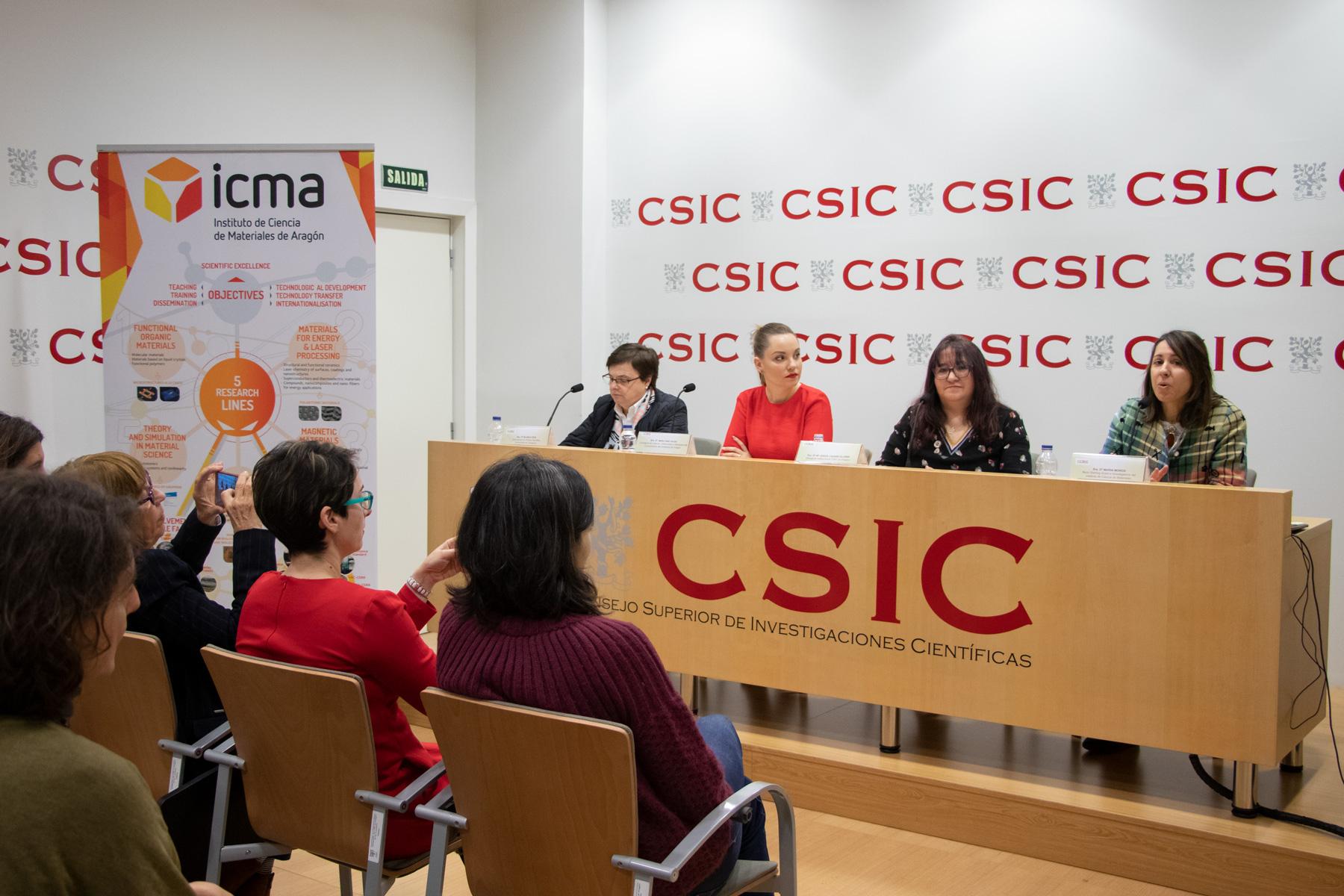 Foto presentación ERC ICMA CSIC sirocco