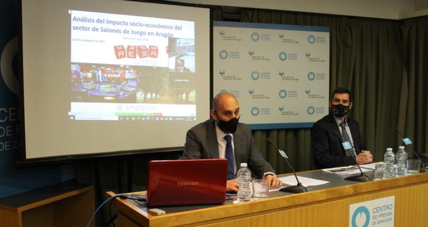 Foto presentación impaco económico AESA