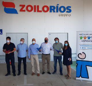 Grullas contra el cancer Zoilo Ríos - ASPANOA