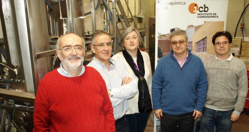 Grupo investigadores Instituto Carboquímica