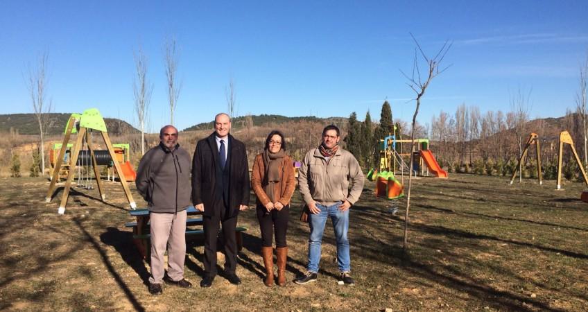 Red Eléctrica de España financia parque infantil en Andorra