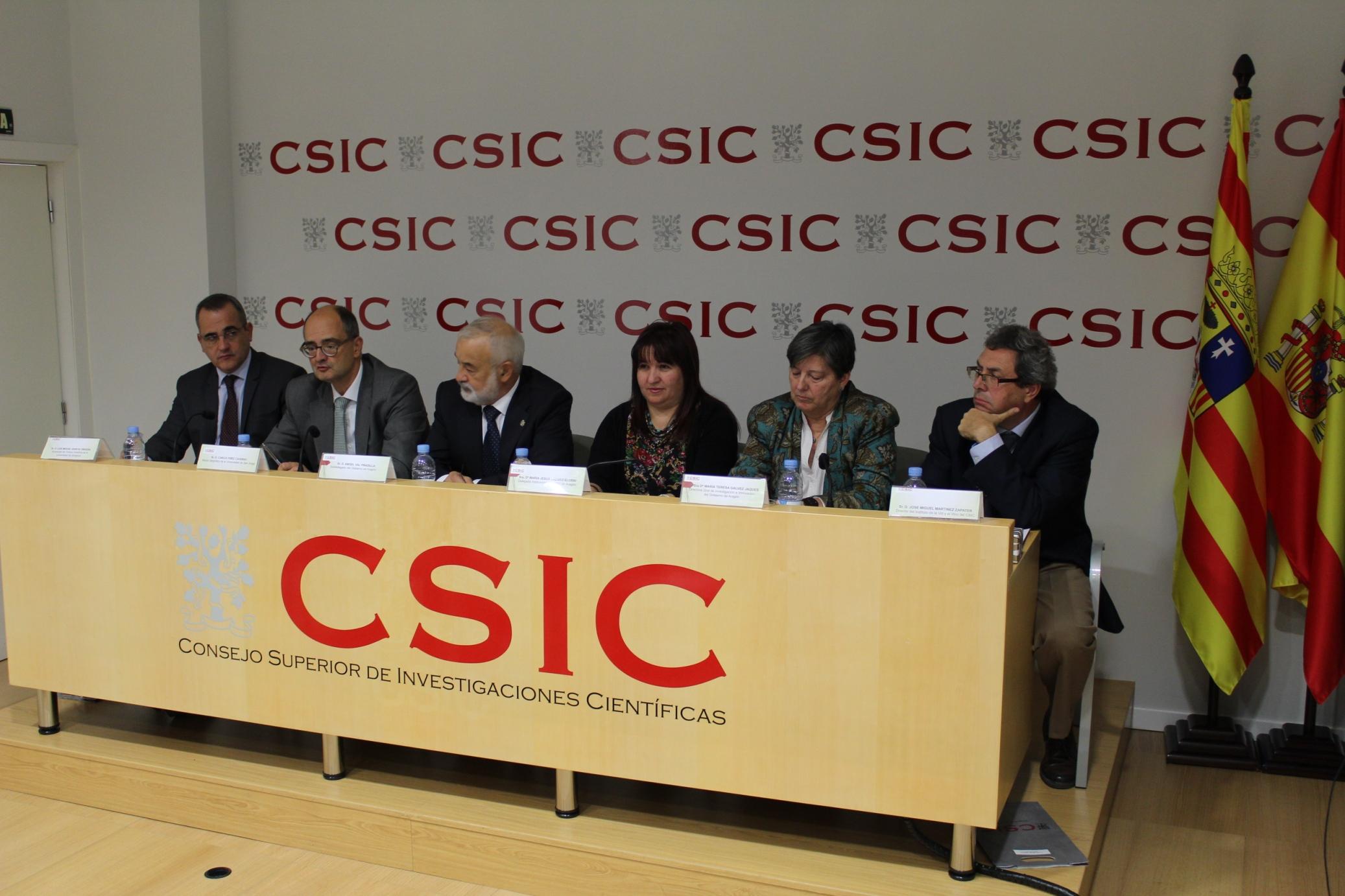 Inauguración Semana de la Ciencia CSIC prensa