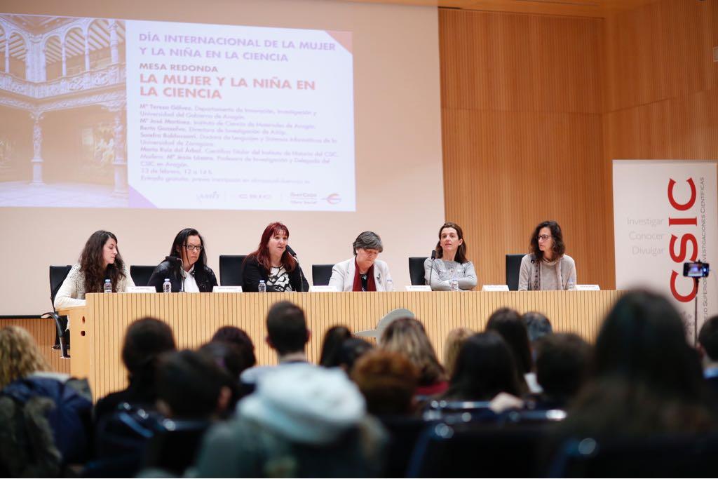 Mujer y la Niña en la Ciencia CSIC Ibercaja 2