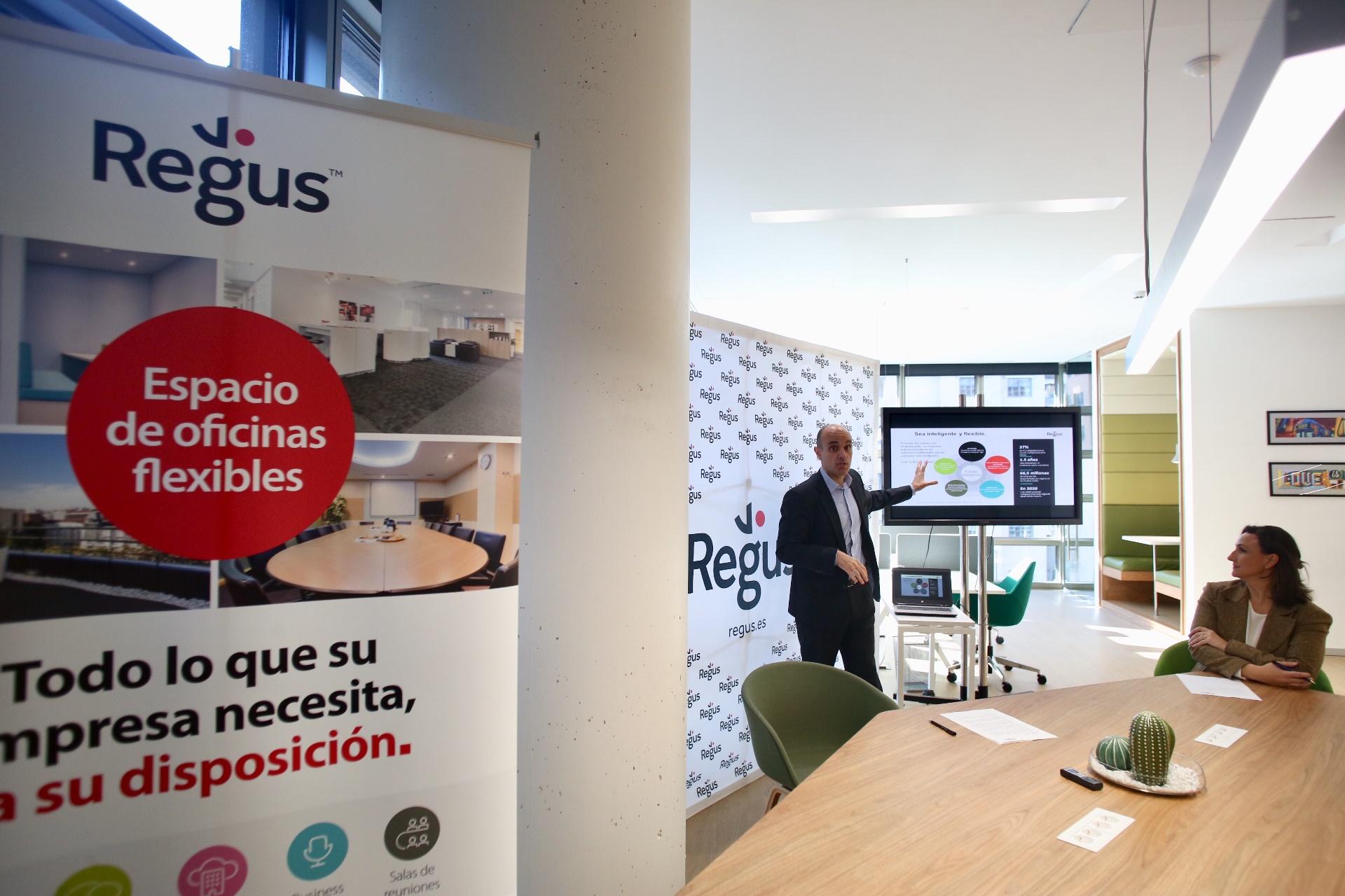 pe Jimenez CEO Regus España
