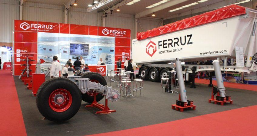 Stand Ferruz FIMA semirremolques ejes y cilindros 2