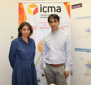 Valeria Grazú y Carlos Sánchez Somolinos , investigadores del ICMA