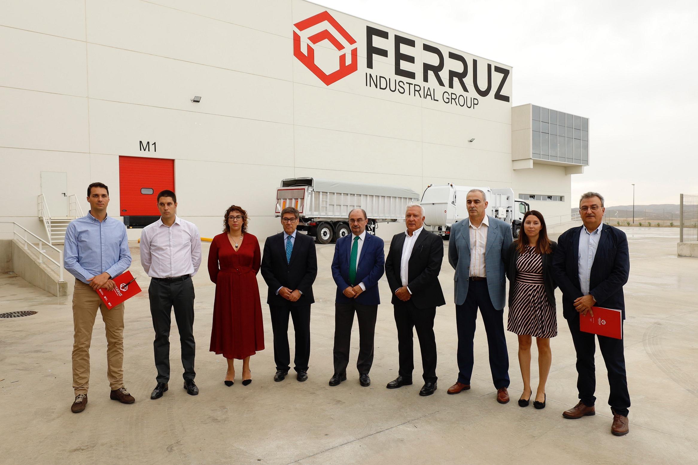 Visita Gobierno Aragon Ferruz PTR 2
