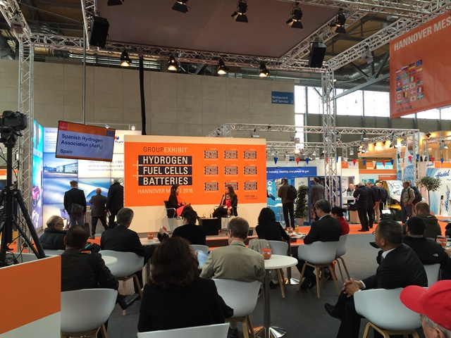 WHEC 2016 Hannover Messe 2