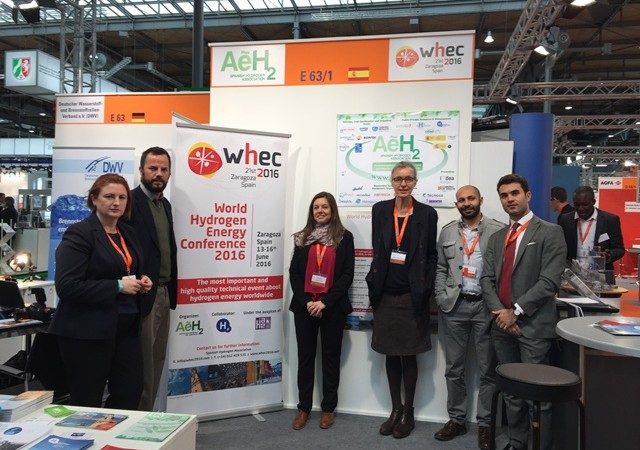 WHEC 2016 Hannover Messe